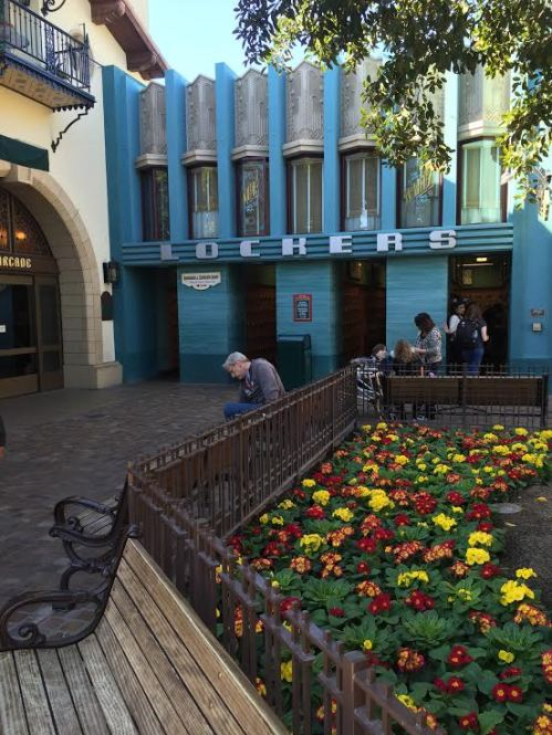 Buena Vista Street Lockers Disneyland Resort