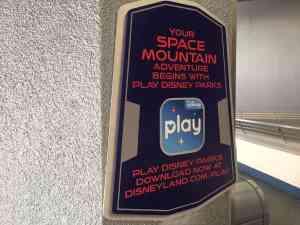 Disney Play App Space Mountain