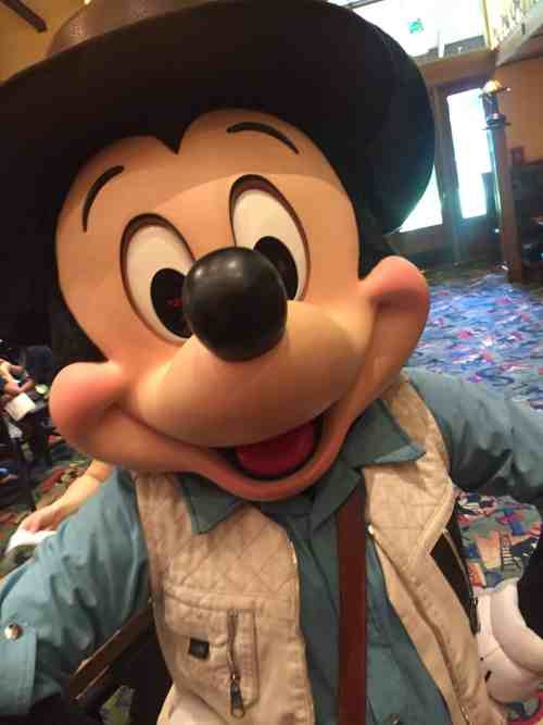 Meet Mickey Mouse at Storytellers Cafe