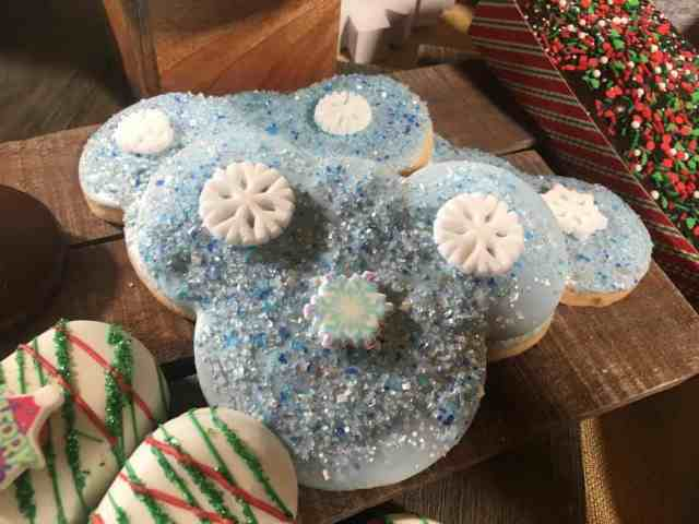 Disneyland holiday cookie