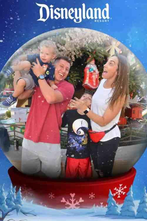 holiday magic shot disneyland