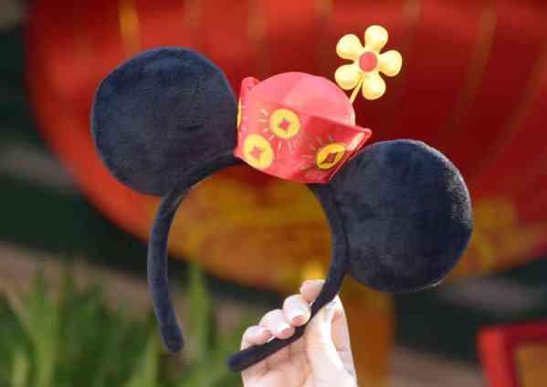 Lunar New Year Minnie Ears