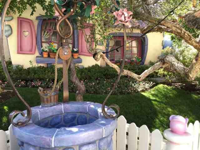 wishing well proposal Disneyland