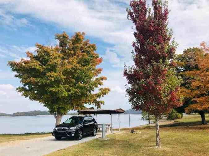 dam-site-lake-park-campground-beaver-lake-island-camping