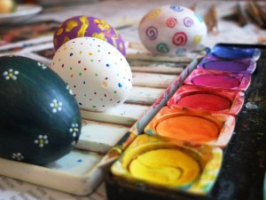 Easter activities with kids
