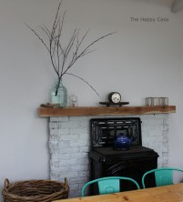 OH how this fireplace has morphed!