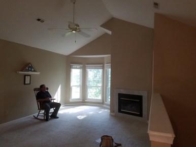 Living Room - with bonus realtor!