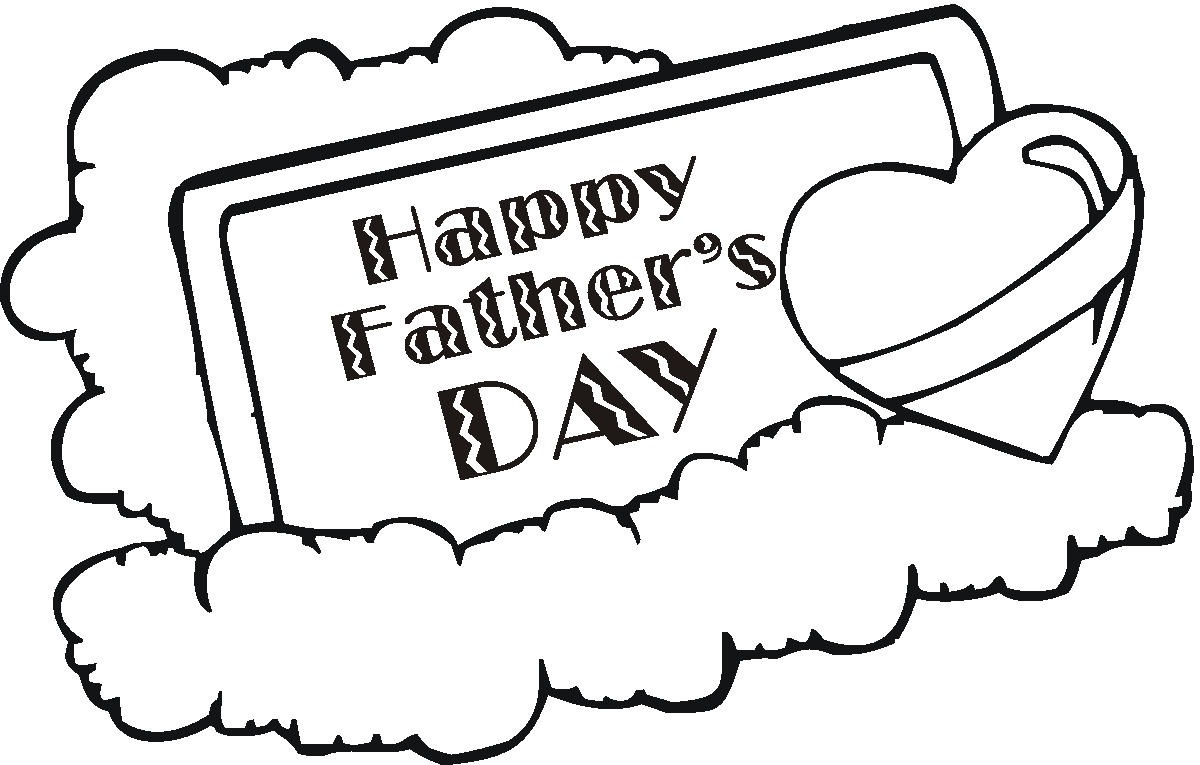 Happy Fathers Day Coloring Pages & Sheets 2019 Free Download