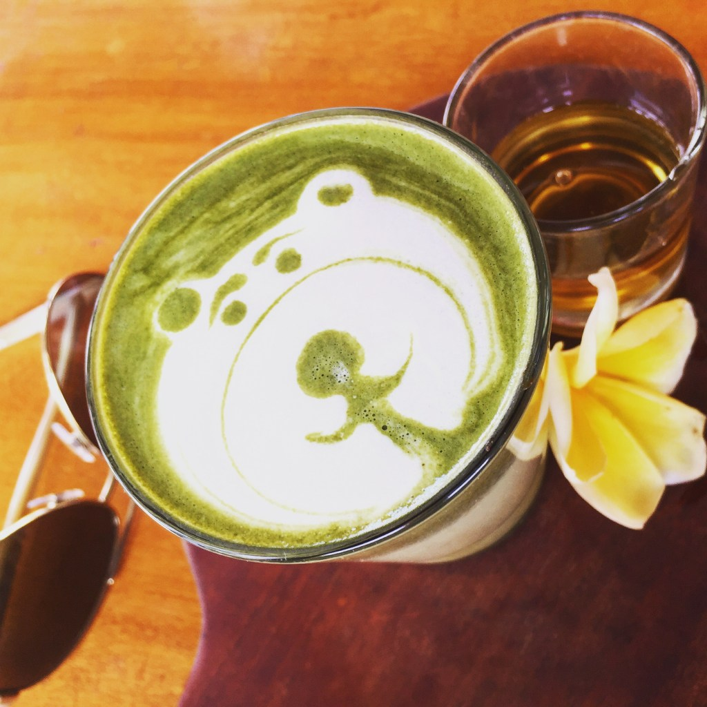 green tea, matcha, bali, travel