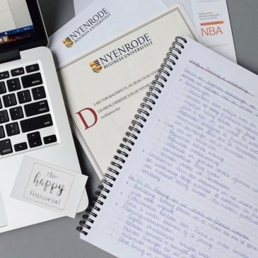 the happy financial studieschuld