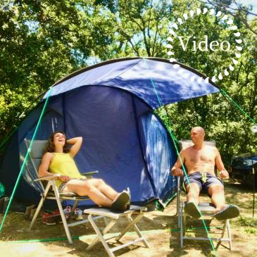 video: de eerste keer kamperen - onze vakantie in frankrijk