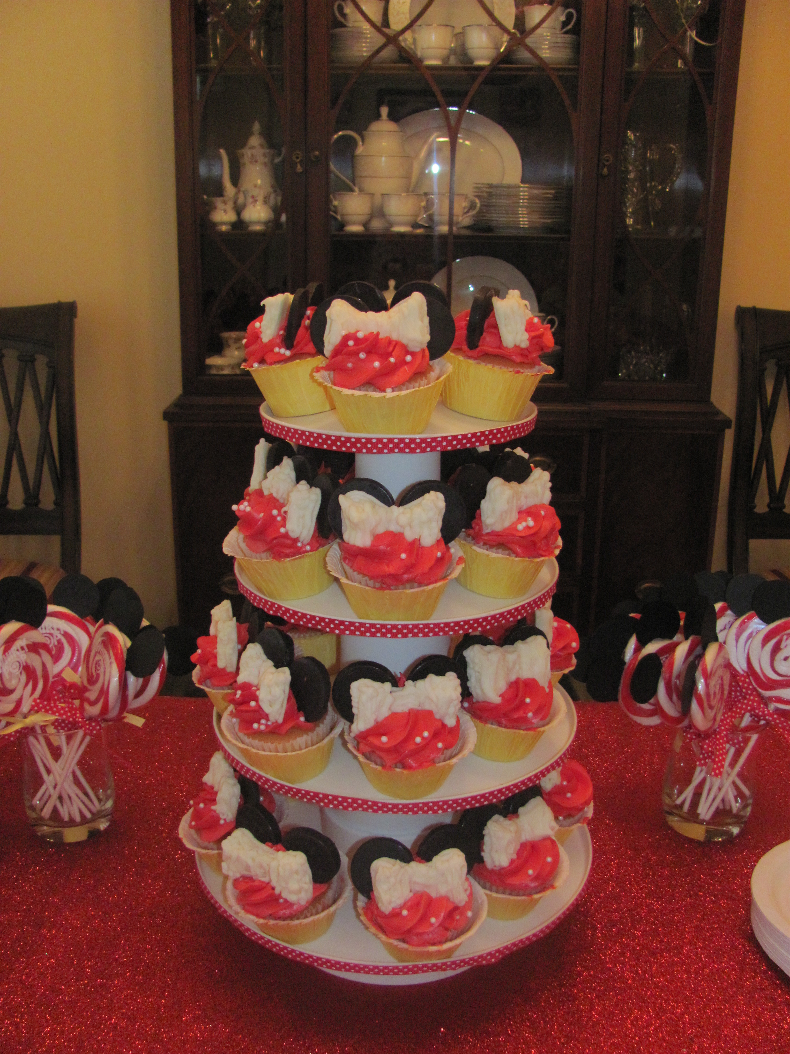 Minnie Mouse Birthday Party The Happy Home Mommy