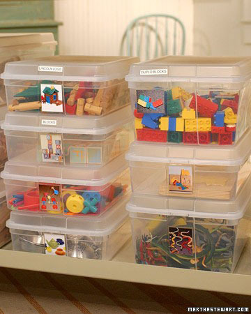 Use Clear Bins To Organize Toys  The Happy Housewife