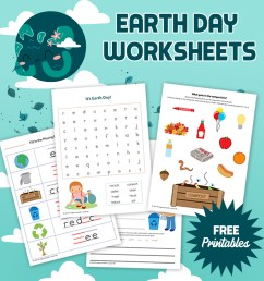 Earth Day Worksheets: Free Printables - The Happy Housewife™ :: Home  Schooling [ 1080 x 1080 Pixel ]