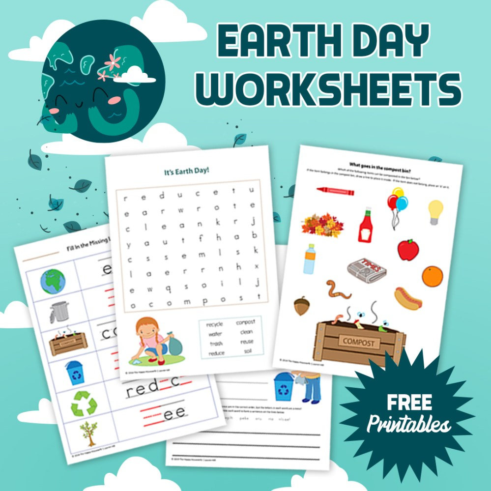 medium resolution of Earth Day Worksheets: Free Printables - The Happy Housewife™ :: Home  Schooling