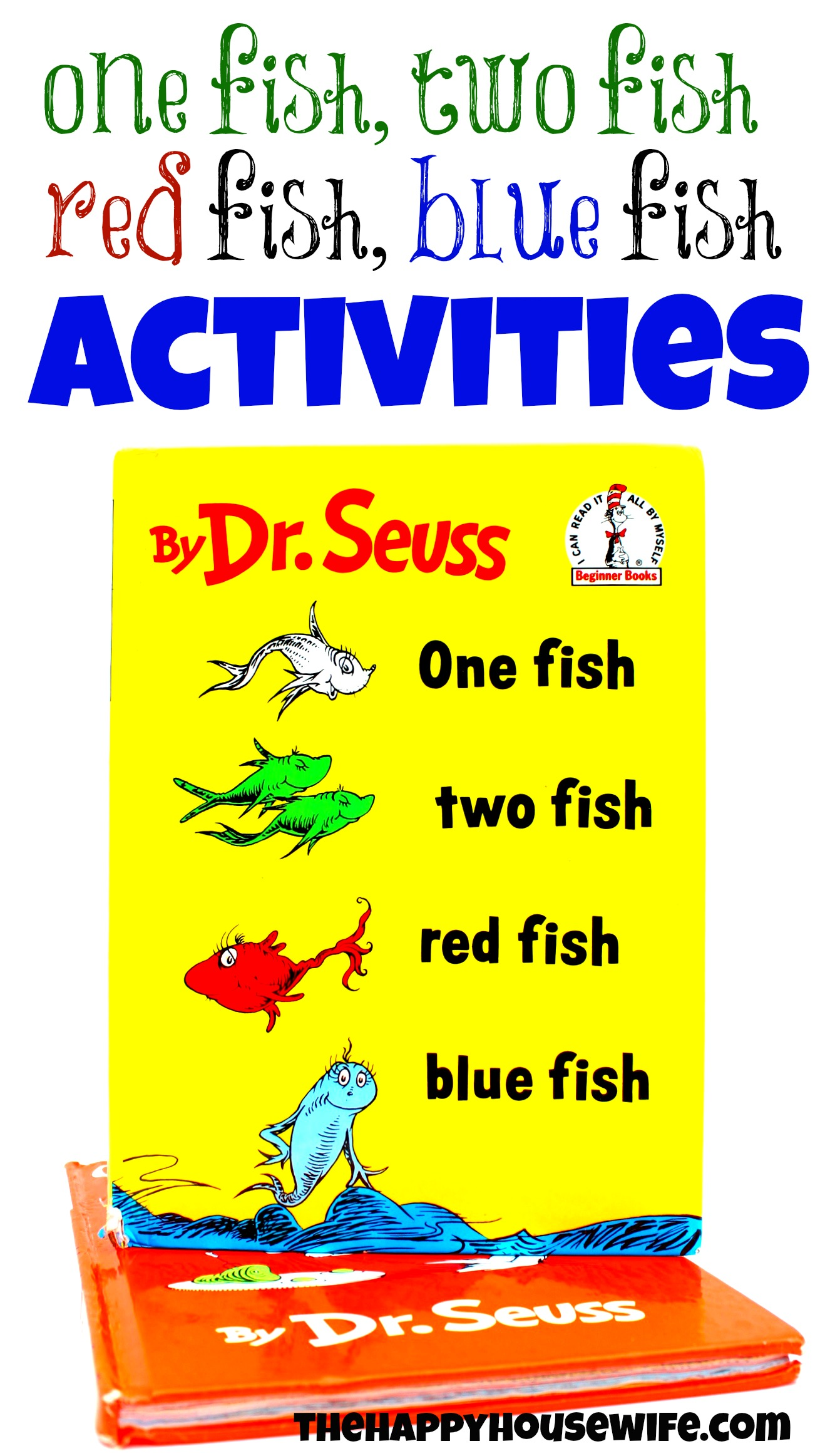 31 Days Of Read Alouds One Fish Two Fish Red Fish Blue Fish