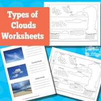 Types Of Clouds Worksheet