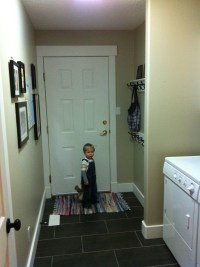How-To Revamp a Laundry Room / Mud Room on a Budget - The ...