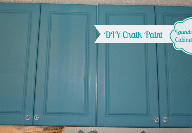 Red Chalk Paint Kitchen Cabinets