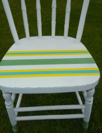 A Dipped 'n' Striped DIY Chalk (and Craft Paint) Painted ...