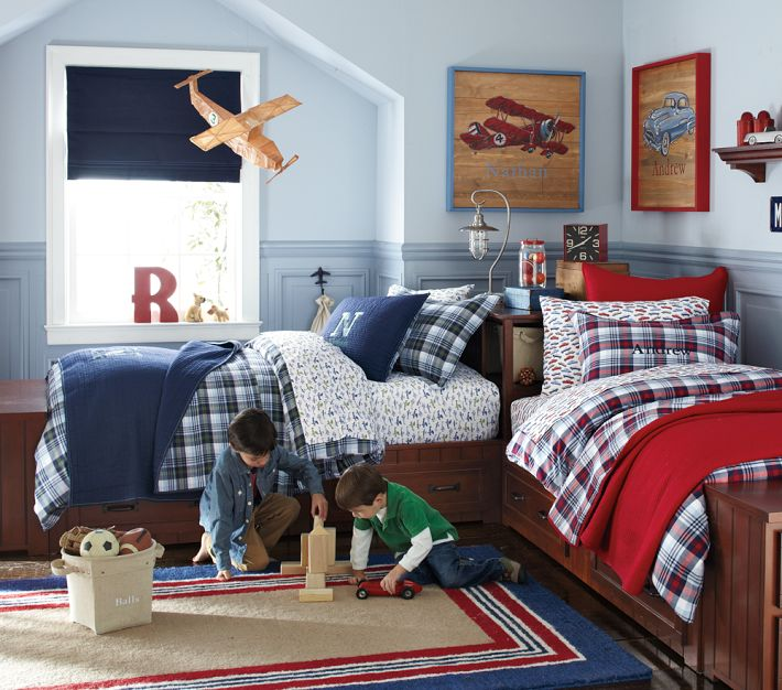 Rethinking How We Use our Space: A Shared Bedroom and a