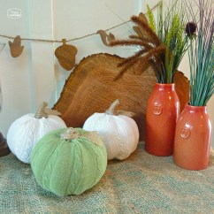 Dollar Tree Pumpkin Chair Covers Jarvis Oz Design Cozy Up Your Fall Decor With Easy Diy Sweater Pumpkins