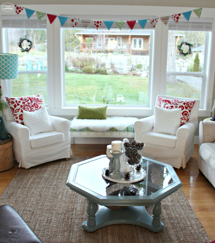 Our Christmasified Living and Dining Room Christmas Party Tour of Homes  The Happy Housie