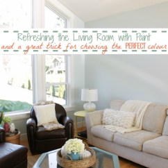 Choosing Paint Colours For Living Room Wall 2018 Refreshing The With A Great Trick And Perfect Colour At