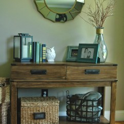 Decorating A Sofa Console Table Bad Boy 20 Stunning Furniture Revivals Get Your Diy On Features