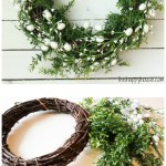 Five Minute Dollar Store Diy Spring Easter Wreath The Happy Housie