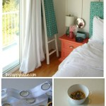 How To Make Your Own Diy Grommet Topped Blackout Drapes The Happy Housie