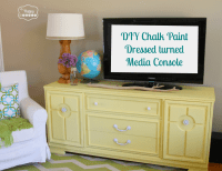 Lightening Up the Living Room with a DIY Chalk Paint