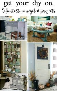 Decorating with Thrifted & Upcycled Pieces: Our Living ...