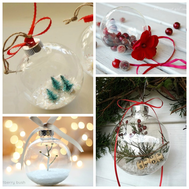 Homemade Christmas Ornaments With Pictures Inside