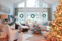 A Lake Cottage Christmas: Our Christmas Living & Dining ...