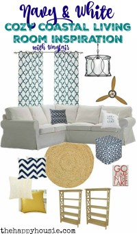 Cozy Coastal Living Room Refresh & Wayfair.ca Launch ...