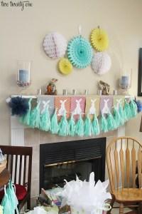 Cute & Cheery Crafty Spring Decor Ideas {Work it Wednesday ...