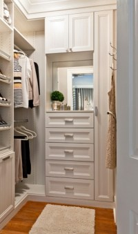 20 Incredible Small Walk-in Closet Ideas & Makeovers - The ...