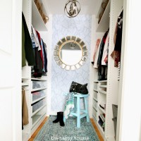 Small Walk-in Closet Makeover Reveal {with Ikea Pax ...