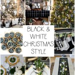 Black White Christmas Style Series The Happy Housie