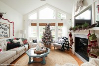 Classic Christmas Living Room Tour - The Happy Housie