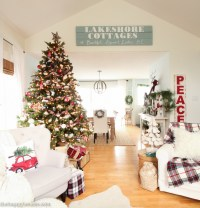 Classic Christmas Living Room Tour | The Happy Housie