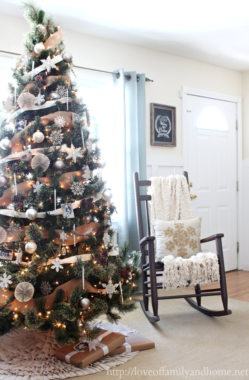 rustic elegant living room designs decor for light grey walls natural & neutral christmas style series - the ...