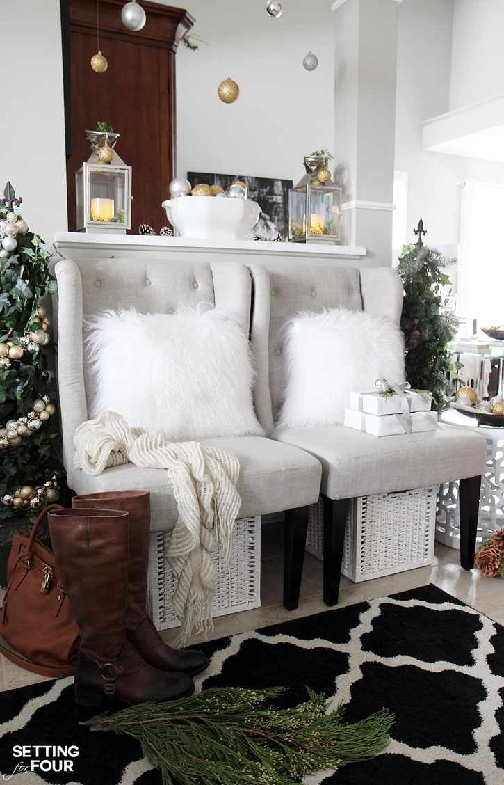 Chic Amp Glam Christmas Style Series The Happy Housie