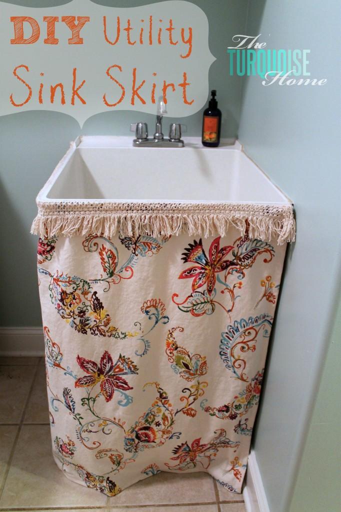 beautifully organized small laundry