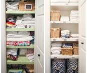 how to organize linen closet
