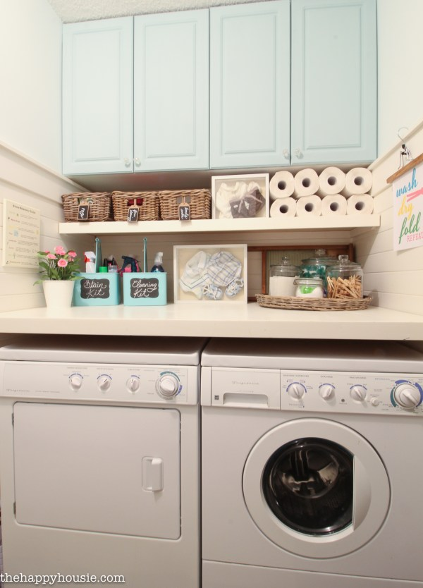 Organize Laundry Room Ideas