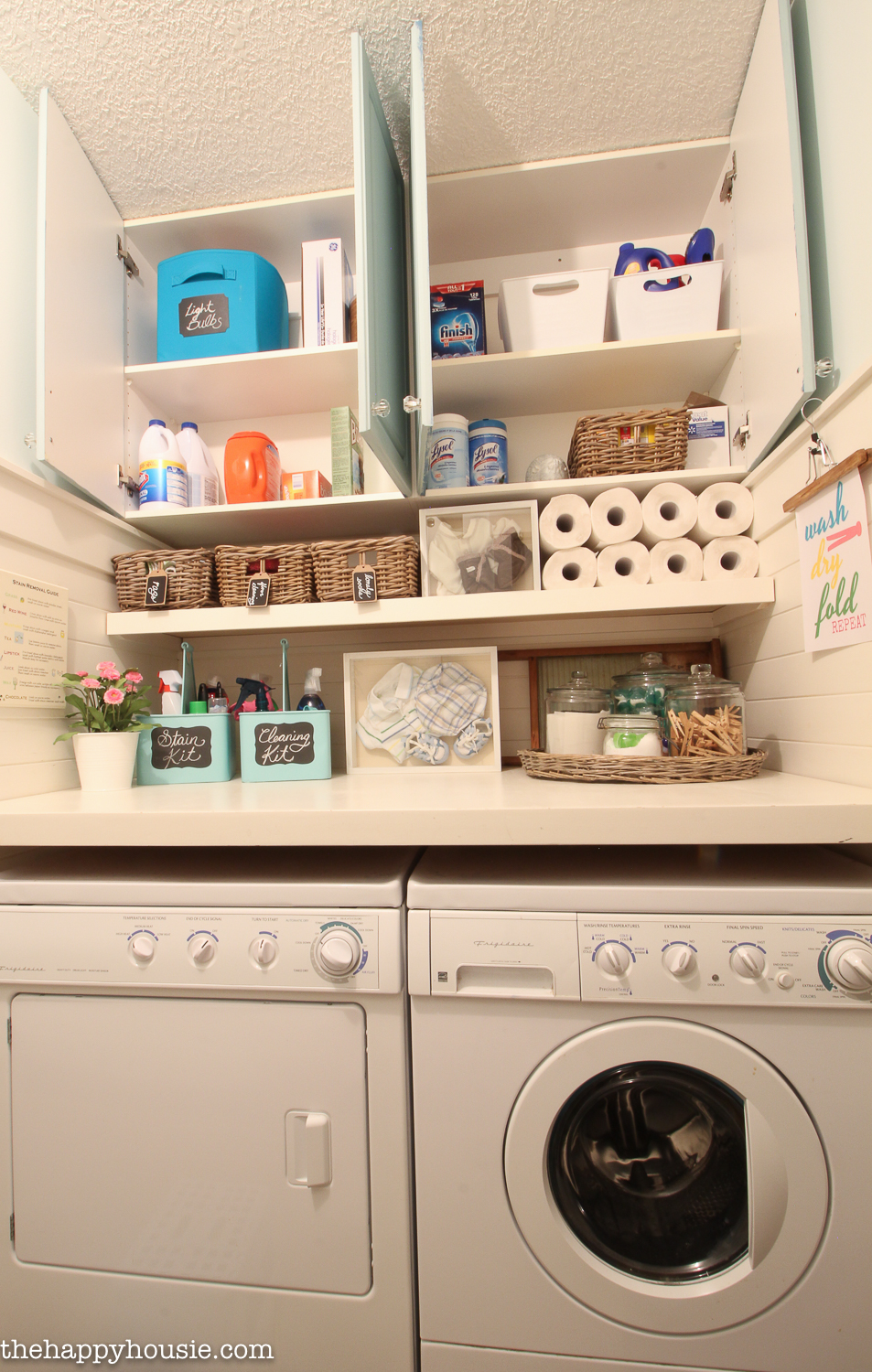 Browse our posts on organization in the laundry and utility room, from decanting detergent to where to stow the dustpan and brush. How to Completely Organize Your Laundry Room in Three Easy ...