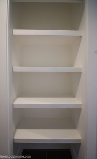 How to Replace Wire Shelves with DIY Custom Wood Shelves ...