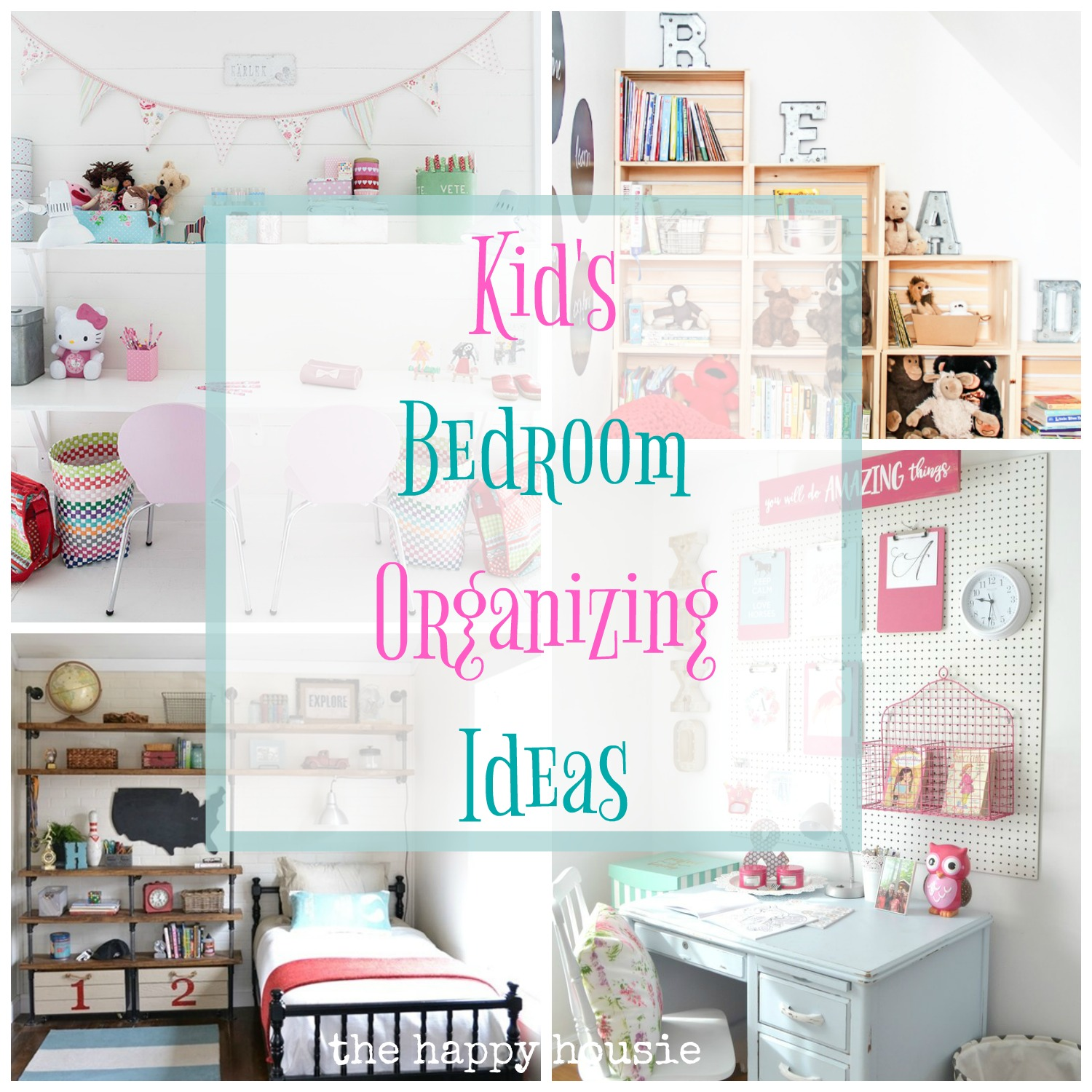 Fantastic Ideas For Organizing Kid S Bedrooms